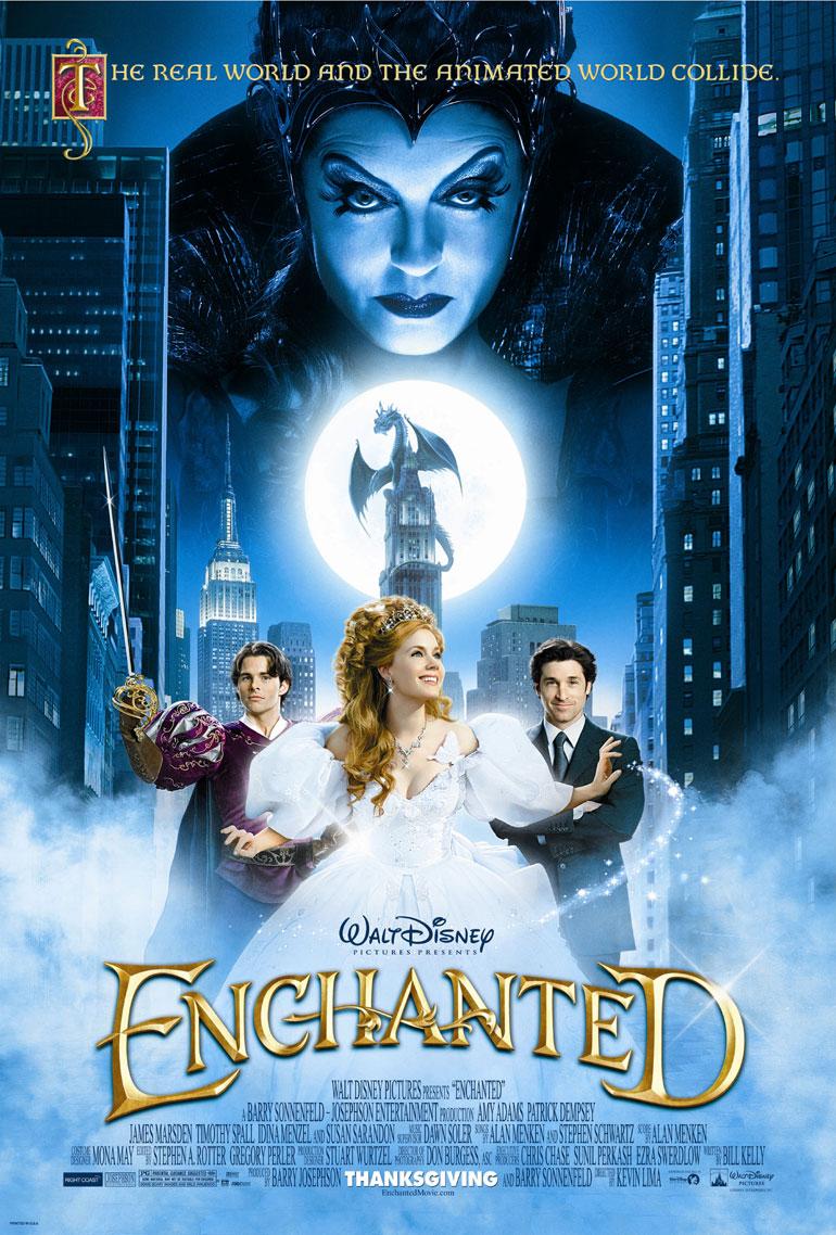 Il était une fois... (Enchanted) - Page 2 Officialposterenchanted